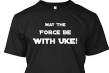 Ukulele : T-Shirt Designs