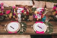 Tablescapes / Beautiful and Easy-to-do Decorations to Glamour-Up Any Tabletop