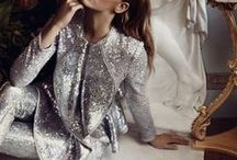 Sequins, Metallics, & Glitter / #Gold #Metallic #Shiny #Sparkly #Silver #Glam #Sequins