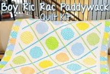 Nursery Rhyme / Fabric, quilts, decor, clothing and ideas for the sweetest nursery.