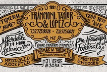 Type Inspiration / What I wish all words looked like
