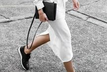 Black and White / Black and white outfit ideas  / by STYLECASTER