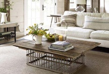 Coffee Tables, Dinning Tables, Side Tables, and Benches  / by Evangeline Mahler