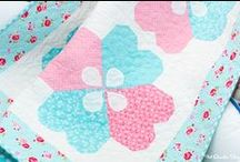 Girly Girls / Everything for the girly girl in your life.  Inspiration, fabric collections, quilts, projects and more!  And remember to Think Pink!
