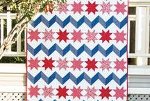 Stars and Stripes / Plenty of inspiration for Independence Day!  / by Fat Quarter Shop