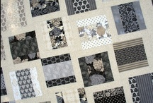 Monochromatic / A collection of monochromatic quilts, fabric collections, home decor and project ideas.