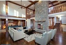 Montgomery County Masterpieces / Montgomery County,PA Homes and Land masterpieces  Livingrooms, Diningrooms, Kitchens and baths / by Home Settlement Network/ RE/Act RECS