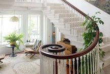 Decor: Foyers, Halls & Stairs / by Pat Gunder