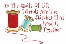 Quilt Quotes & Sayings / Inspiring, funny, and fun quilting qoutes