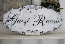 Be Our Guest / Ideas For My Guest Bedroom / by Pat Gunder