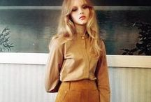 70s Style / 1970s fashion inspiration - From current takes on the trend to our favorite fashion icons of the '70s.