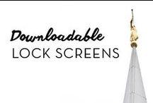 iPhone Lock Screens / iPhone 6(s) Lock Screens