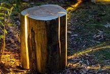 Recycle lamp and light / Lamparas recicladas, reutilizadas
