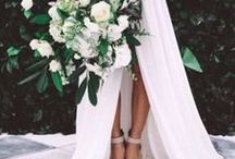 Wedding Beauty & Style / All the inspo you need to look your best on the BIG day | wedding dresses | bridal hair + makeup | bridal shoes and accessories