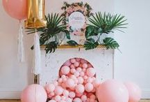 DIY Party Ideas / Fantastic Party Ideas to DIY | Cute Birthday Party Ideas | Outdoor Entertaining | Party Themes | Baby & Wedding Showers | Party Crafts and Affordable Decor