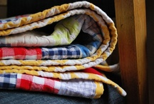 cozy. / quilts and blankets