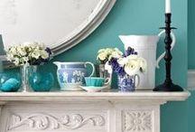 Blue Ideas / Que me perdoem as cores...mas Blue é fundamental!!! / by CasaBella Interiores