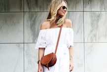 Spring/Summer Style / All the style inspiration you could want for those warm weather days.