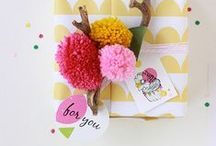 gifty. / pretty presents and packaging / by cheryl @ a pretty cool life.