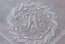 Alphabet wall decor / Que tal usar na decoração...as letras que você gosta? -----------------♥ Luciete Valente / by CasaBella Interiores