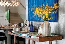 Entry Ways & Foyers / A entrada é o cartão de visitas de sua casa.Capriche, dê boas vindas com uma decor que tenha a sua cara... -----------------♥ Luciete Valente  / by CasaBella Interiores