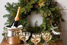 """® Christmas Inspiration ® / """"Idéias são pérolas soltas, Boas idéias, são jóias prontas"""". (Luciete Valente) / by CasaBella Interiores"""