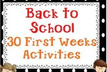Beginning of the Year Activities & Ideas / Things to do with students at the beginning of the year. Resources and ideas for the new school year.