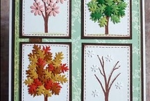 Cards - Trees, Leaves & Houses
