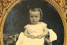 Photos: Daguerreotypes, Ambrotypes, Tintypes, Carte-de-visites, and Cabinet cards / by Carla Brown