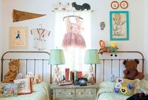 decorating for littles. / boy + girl + shared bedroom inspiration