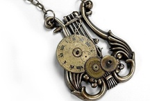"""Steampunk"" Jewelry / by Lori Gartzke"