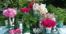 Stunning Tablescapes & Flowers / Elegant, rustic, vibrant and more. Tablescape inspiration for your wedding or next big event!