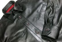 Our Menswear Gallery / Custom-Made men's leather clothing - if you can dream it we can make it.  NYC and Worldwide.