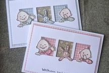 Baby Cards / Lots of inspiration for handmade baby cards using Marianne Design products / by Marianne Design