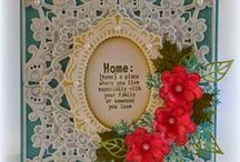 New Home Cards / Lots of inspiration for handmade new home cards using Marianne Design products / by Marianne Design