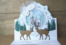 Winter Cards / Lots of inspiration for handmade winter themed cards using Marianne Design products / by Marianne Design