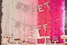Dessert Bars, Candy and Cookie Tables <3 / Sweets for the Sweet.....