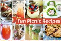 #SummerSpark Picnic Ideas / Here are some picnic and food ideas for you to do!