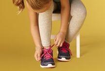 Stay active every day! / Incaltaminte sport pentru copii.