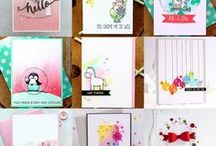 My Projects until 2016 / I am just another stamp-, paper-, embellishment-addicted girl who loves to create pretty things every day! Find more here: http://wingsofabutterfly-vanessa.blogspot.de