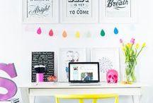 Blogerka w Biurze / Inspirujące miejsca pracy - Work Spaces