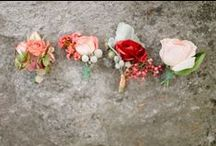 Boutonnieres / by Amy Stanley