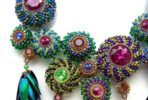Beading--Beaded Bezels Tutorials / by Debora Orrick