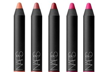 NARS Satin Lip Pencil Collection / Dress up lips with the new, moisture-rich NARS Satin Lip Pencil. The five pink shades highlighted are available for purchase exclusively through this pinboard from now until the official launch of the thirteen-shade collection on www.narscosmetics.com on March 7, 2013.