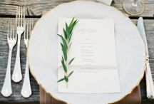 Tabletops / Inspiration for a beautifully laid table