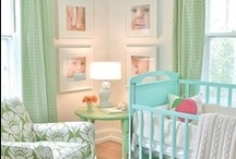 Baby Girl Nursery / Nursery decor ideas and inspiration for a baby girl