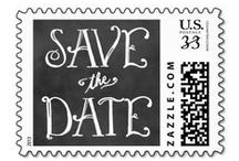 Wedding : Save the Dates / Stylish wedding save the date announcement cards and stationery accents