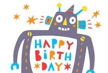 Robot Birthday Party / Party planning ideas, invitations, and inspiration for boy and girl robot themed birthday parties.