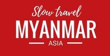 Myanmar / Myanmar or Burma is on our travel bucket list. We can't wait to travel to this amazing Asian destination.