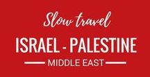 Israel - Palestine / Israel and Palestine are on our travel bucket list. We can't wait to travel to these amazing Asian destinations.